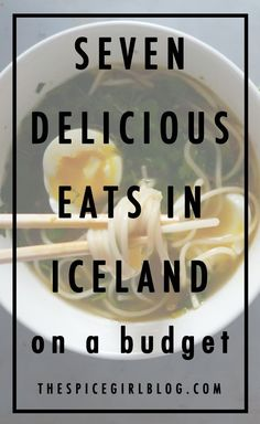 Eats on a Budget Traveling to Iceland? You'll want to see these seven delicious eats in Iceland. -- Whether you are trying to make it through Iceland on a tight budget, or looking for a few meals to save some money, there are definitely delicious options! Eat On A Budget, Budget Travel, Tight Budget, Travel Europe, Travel Hacks, Solo Travel, Japan Travel, Travel Ideas, Travel Guide