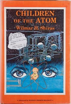 Lela Dowling's cover for the 1978 edition of Children of the AtomLela Dowling's cover for the 1978 edition of Children of the Atom