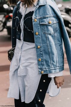 Spring 2017 Street Style Trend, Full On Glam Style - Corset Details