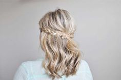 Braided Hair Tutorial + a celebration of Beauty Makers Summer Hairstyles, Cute Hairstyles, Braided Hairstyles, Wedding Hairstyles, Wedding Hair And Makeup, Hair Makeup, Bridesmaid Hair, Hair Today, Hair Dos