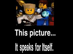 You wouldn't get this unless you knew of the ninjago/Chima war thingy.