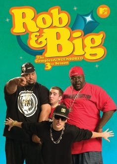 Rob Dyrdek, Chris Boykin, Chris Pfaff, and Rashawn Davis in Rob & Big Rob And Big, Rob Dyrdek, Entertaining Movies, Tv Shows Funny, Kind And Generous, Big Show, Attractive Guys, Building For Kids, Make New Friends