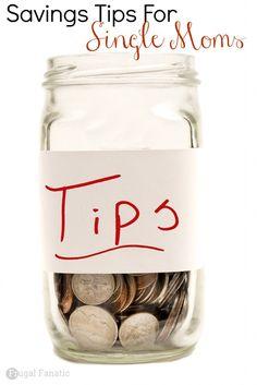 Savings Tips for single moms
