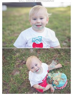 Davis's 1 year photo session, Will Greene Photography, Washington NC