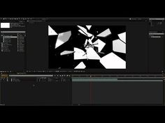 How to use Black and White Luma Mattes & Alpha Channels on Video Footage & Transitions