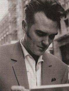 Fuck yeah, Morrisseys hair!