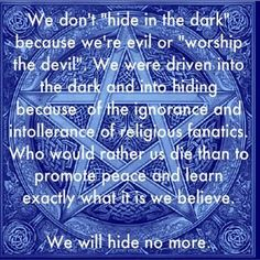 Quote on Paganism and/or Wicca and Witches.