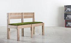Grass Loveseat 'Mow Chair' Debuts in Milan   Inhabitat - Green Design, Innovation, Architecture, Green Building
