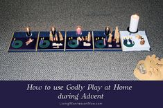 Montessori-based Godly Play can deepen religious-education programs in churches of any Christian denomination. Godly Play can also deepen the religious education you provide in your homeschool. Advent Activities, Christmas Activities, Activities For Kids, Christmas Crafts, Homemade Christmas, Xmas, Godly Play, Sunday School Classroom, Montessori