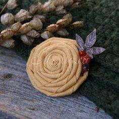 """Уютная, нежная брошечка """"Теплые лучи"""" #handmade #брошь #brooch"""