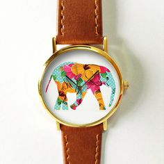 Hey, j'ai trouvé ce super article sur Etsy, chez https://www.etsy.com/fr/listing/233536302/elephant-watch-vintage-style-leather