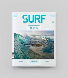Transworld Surf Redesign by Wedge & Lever , via Behance