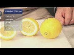 Oil Treatments & Recipes : How to Treat Kidney Stones With Lemon AND OLIVE OIL