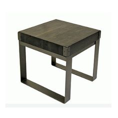 Eco friendly Canadian Made furniture by Forge Design Furniture Making, End Tables, Eco Friendly, Stool, Design, Home Decor, Mesas, Decoration Home, Room Decor