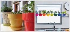www.janelas cozinha com vasinhos imagens - Pesquisa Google