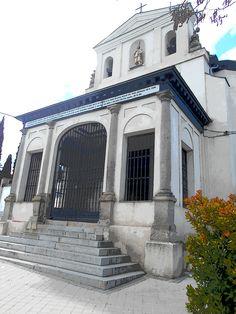 Ermita del santo. Esta en lo que fueron los terrenos de Ivan de Vargas , patron de San Isidro.