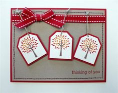 stampin up tag punches - Google Search