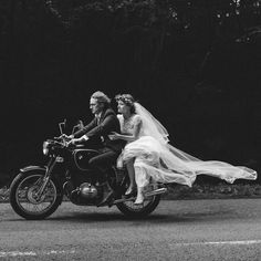"motobilia: "" Just Married source: On The Level Magazine """