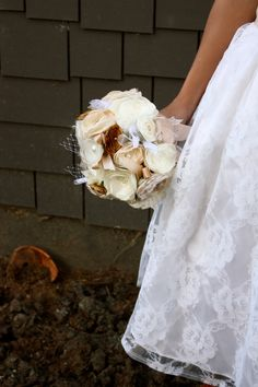 how gorgeous is this? #wedding #flowers #bouquet