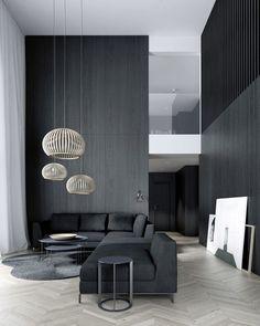 """12.1 k gilla-markeringar, 52 kommentarer - Interior Design & Decor (@homeadore) på Instagram: """"Minimalist Living Room 👍 Credit: ?"""""""