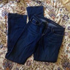 Gap denim Skinny boot gap denim. Size 6 but they run a little big I think they are more like an 8 and they are a long. They are in EXCELLENT condition because I bought them in a good sale but never wore them because they are big on me GAP Jeans Boot Cut