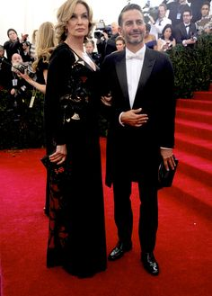 Having a Ball - Jessica Lange and Marc Jacobs