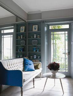 Image Via Apartment 34 Beautiful Homes Tufted Sofa Settee Living Es