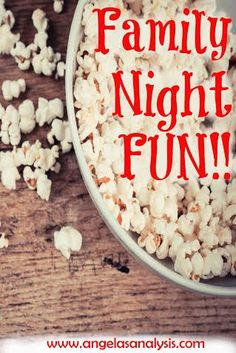 How to keep family nights simple but memorable!