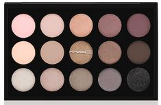 MAC Eyeshadow X15 palette in Cool Neutral