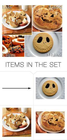 """Halloween Breakfast Treats!"" by x5sosxpreferencesx ❤ liked on Polyvore featuring art"