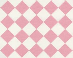Diamond Baby Pink / White | Online Discount Drapery Fabrics and Upholstery Fabric Superstore!