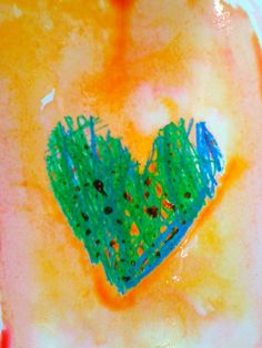 Kids Art Market: Warm and Cool Hearts with Jim Dine What Are Cool Colors, Warm And Cool Colors, Crafts For Seniors, Senior Crafts, Jim Dine, Heart Stencil, Valentines Art, School Art Projects, Chalk Pastels
