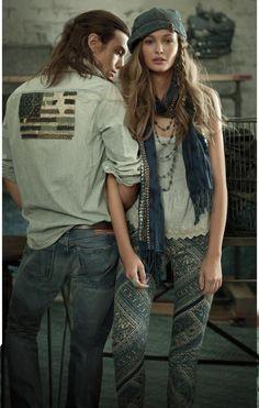 Ralph Lauren Denim & Supply S/S 13 campaign and Lookbook with AVICII (Ralph Lauren)