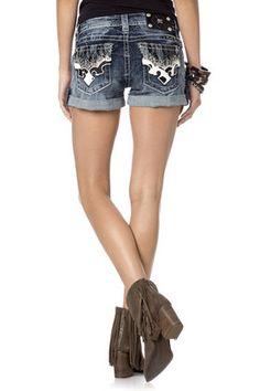 Cowhide Phoenix shorts