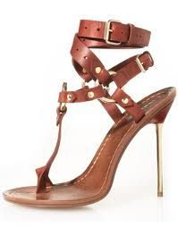 Leather sandals ... Gorgeous.