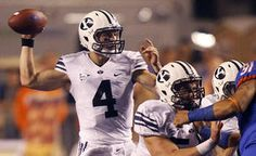 PROVO — BYU football spring practices are right around the corner with a lot of intriguing storylines on the horizon. A completely revamped coaching Byu Football, College Football, Football Helmets, Book Of Mormon Stories, Brigham Young University, Running Back, Make You Smile, Coaching, Athlete