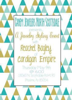 Cardigan Empire: Mother's Day Giveaway with Ganem Jewelers  --- yes please!!