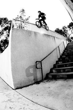 Albert Mercado 50 50 grind #bmx