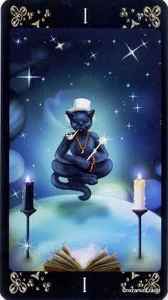 The Magician - Black Cats Tarot Find out what the Magician means for you: www.tarotbyemail.com