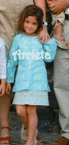 Arrieta Morales, daughter of Princess Alexia of Greece and Carlo Morales. Born February 24, 2002.