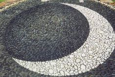 Dark Sea Pebble Mosaic