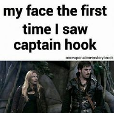 My face the first time I saw Captain Hook