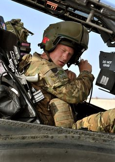 Prince Harry in Helmand, Afghanistan, during his second tour with the army. The British royal returned home on Jan.