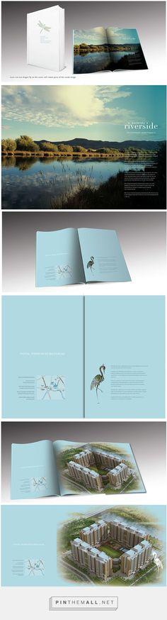 BROCHURE DESIGN: KALPATARU RIVERSIDE on Behance - created via http://pinthemall.net
