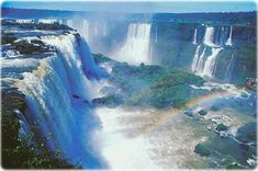 See the Iguazu Falls In Brazil/Argentina