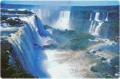 Dit zijn pas watervallen! Foz de Iguacu grens Brazilie/Argentinie. Mooiste wat ik ooit heb gezien.