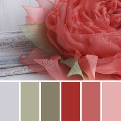 Paint color pallettes. With every season there's a reason to change any decor to a color that's pleasing.
