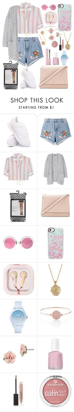 """""""Untitled #562"""" by heyfoghorn ❤ liked on Polyvore featuring Reebok, House of Holland, Solid & Striped, MANGO, Forever 21, Kate Spade, Christian Lacroix, Casetify, claire's and 2028"""
