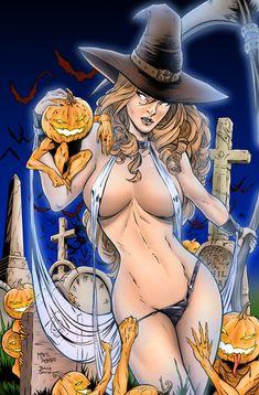 halloween lady death