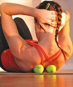 Yoga Tune Up Therapy Balls: Relieve stress, unwind knots, and loosen locked muscles through targeted self-massage therapy.